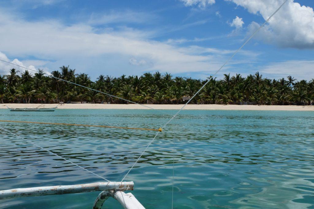 Ein Traumstrand auf Bantayan Island