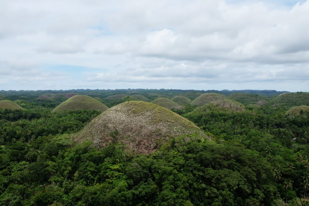 Die Chocolate Hills auf Bohol