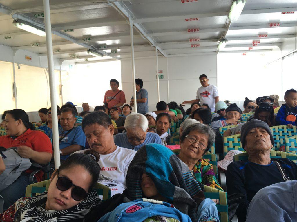 Fahrt mit der Fähre nach Bohol