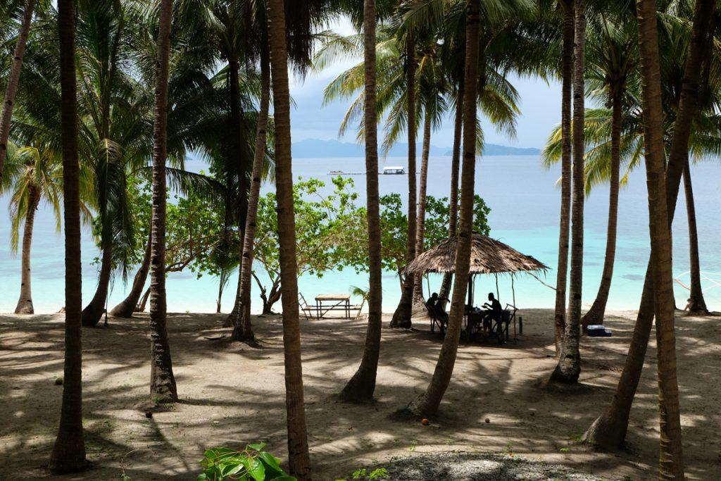Paradise Island bei Port Barton