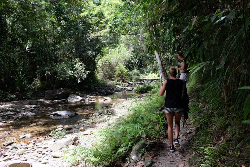 Abenteuerliche Wanderung zum Wasserfall Papawyan