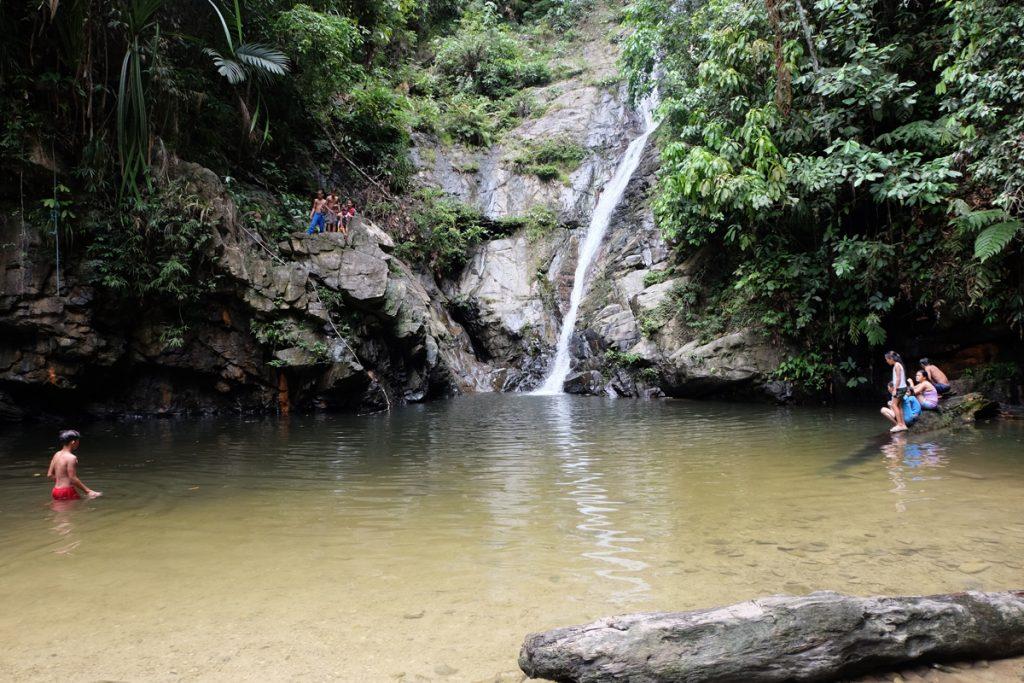 Wasserfall Papawyan bei Port Barton