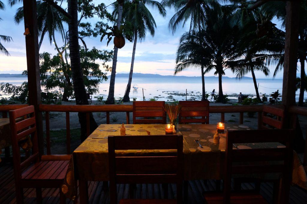 Abendessen mit grandiosem Ausblick