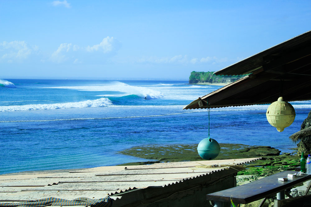 Surfspot Bingin Beach