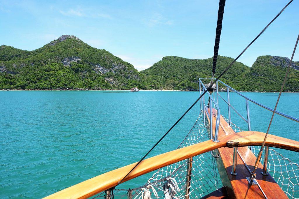 Fahrt durch den Ang Thong Nationalpark