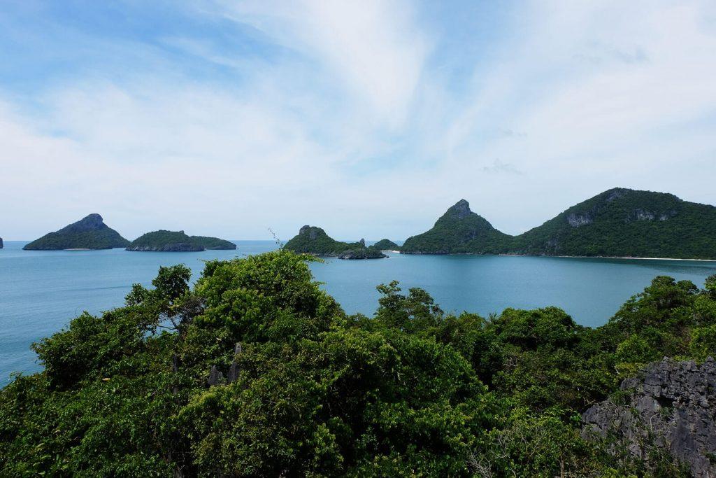 Aussicht über den Ang Thong Nationalpark
