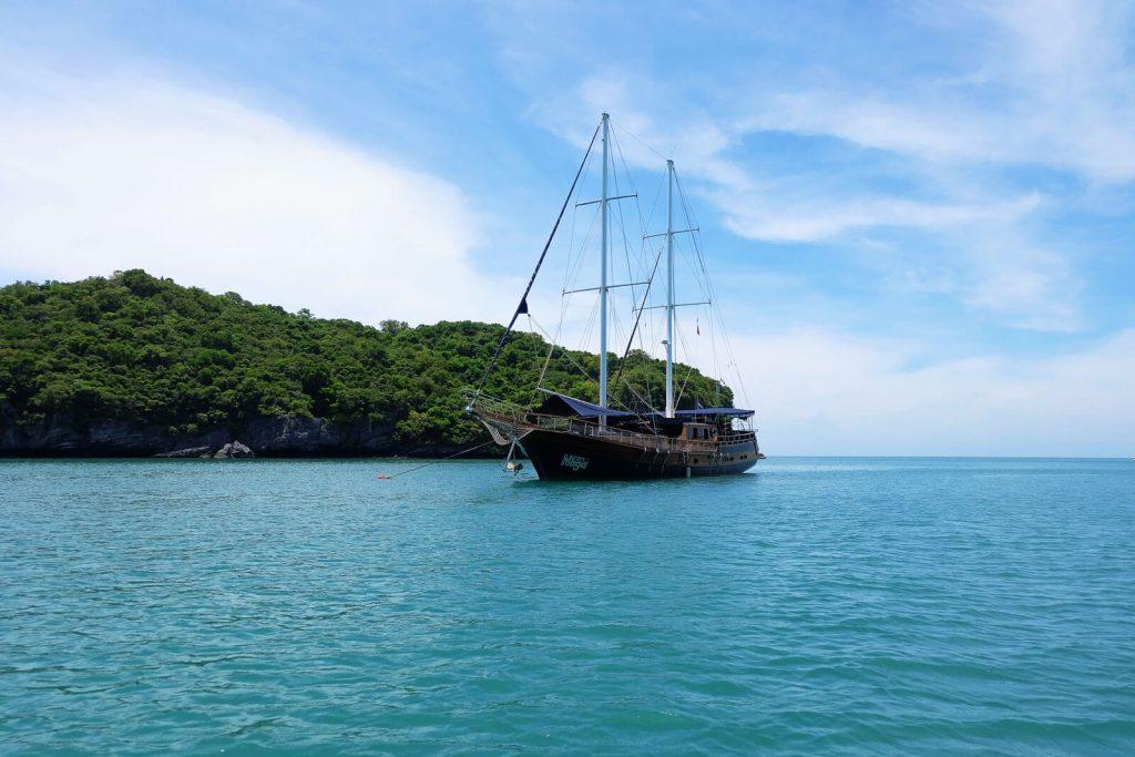 Segelboot Naga