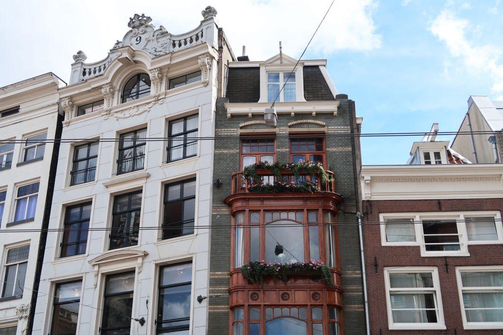 Backsteinhäuser in Amsterdam