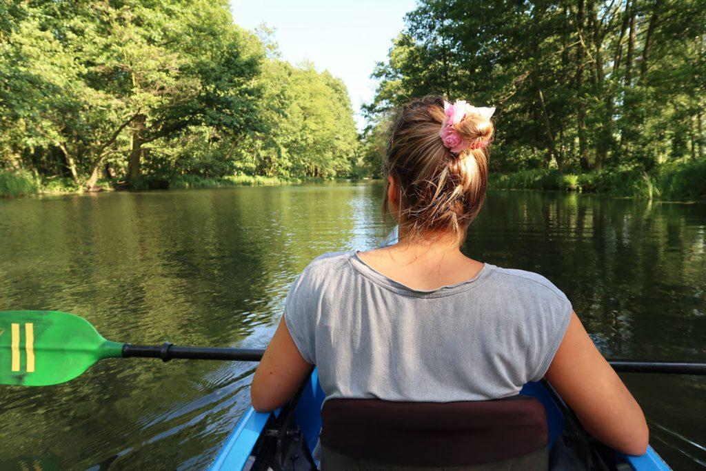 Kanu-Tour durch den Spreewald