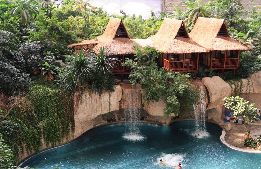 Die Junior-Suiten im tropischen Regwenwald