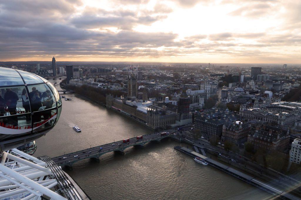 Aussicht über London