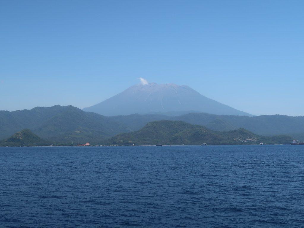 Vom Boot aus hatten wir einen tollen Blick auf Bali