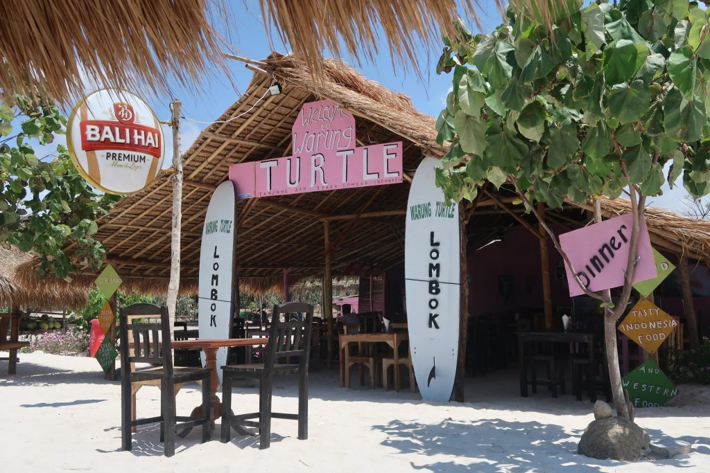 Warung Turtle Tanjung Aan Beach Lombok