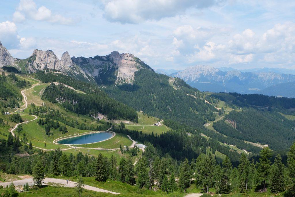 Aqua Trail Nassfeld mit Ausblick
