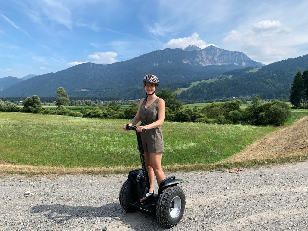 Segway Tour durch die Berge