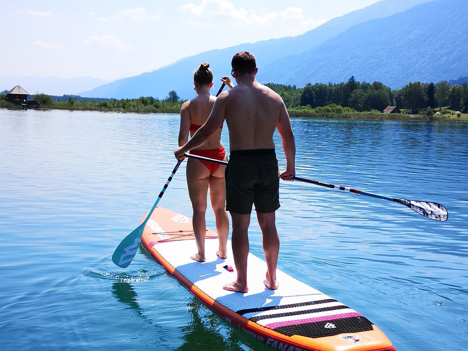 Stand Up Paddling Tandem